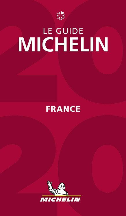 Le guide Michelin ; France (édition 2020) - Le guide rouge
