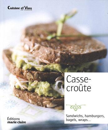 Casse Croûte - Sandwichs, Hamburgers, bagels, wraps Marie Claire