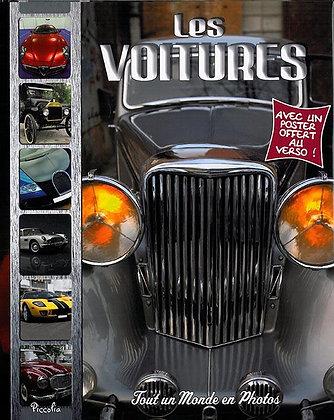 Les  voitures  - Avec un poster offert au verso -Tout un monde en photo Piccolia