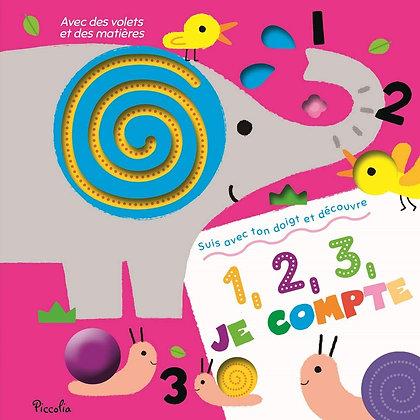 1, 2, 3, Je Compte -Editions piccolia