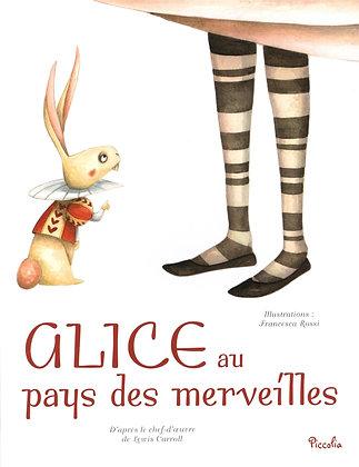 Alice Au Pays Des Merveilles - Lewis Carrol - Piccolia - Livre enfant