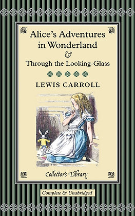 Alice In Wonderland - Lewis Carroll - Collector's Library - Livre en anglais