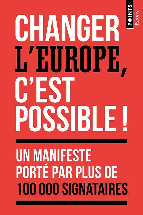 Changer l'Europe, c'est possible ! - Bouju Manon - Ed Points