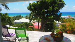 B3 terrasse   vue jardin et mer(2)