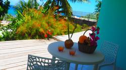 B3 terrasse  vue jardin et mer (3)