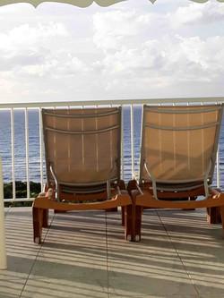vue mer depuis terrasse