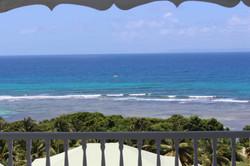 vue mer  _180° depuis terrasse