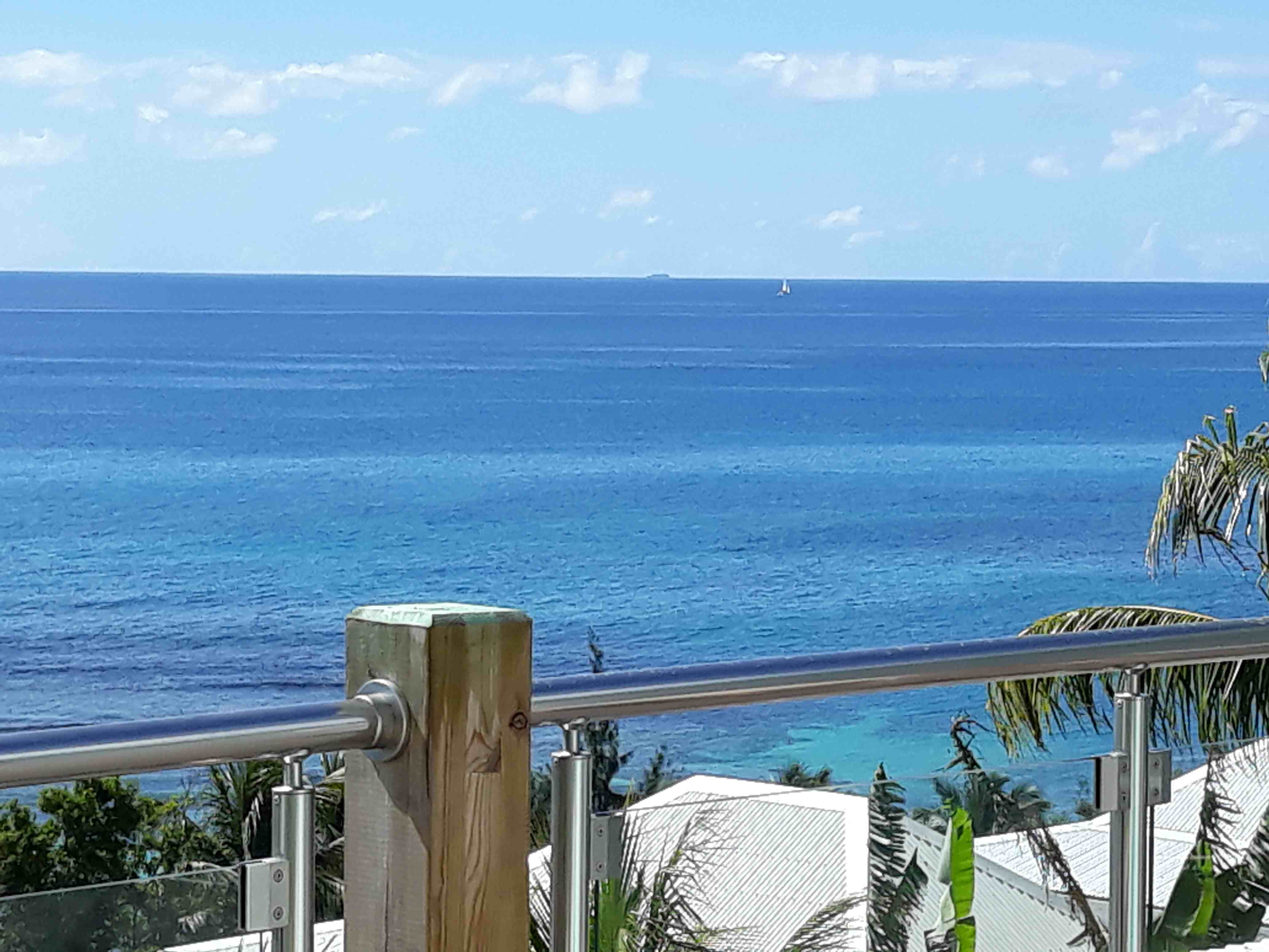 vue mer depuis deck
