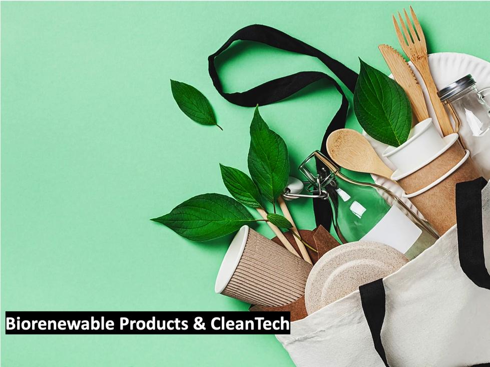 Biorenewable Products & CleanTech