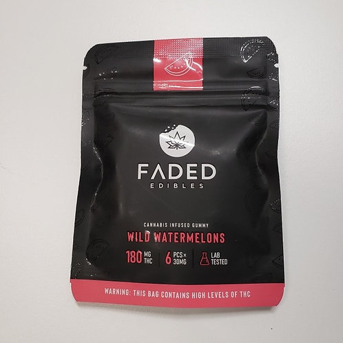 Faded Edibles 180MG THC Wild Watermelons