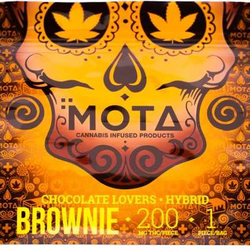 MOTA: 200MG THC Brownie