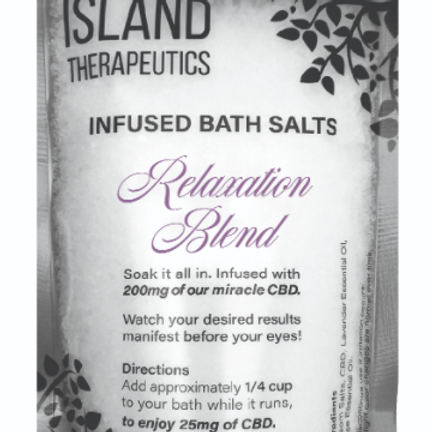 ISLAND THERAPEUTICS: 200MG CBD  RELAXATION BATH SOAK