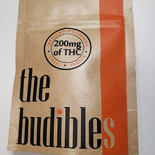 High Voltage 'Budibles' 200MG THC Cola
