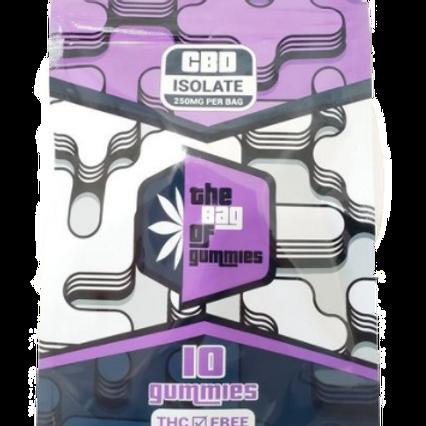 The Bag of Gummies 250MG CBD Gummies