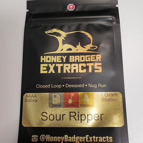 Honey Badger 1G Shatter/Wax