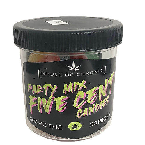HOUSE OF CHRONIC 500MG FIVE CENT CANDIES