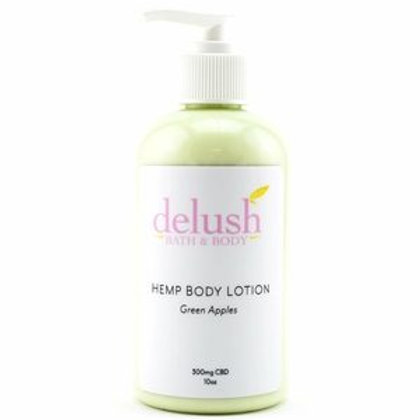 Delush Hemp Body Lotion 300mg CBD