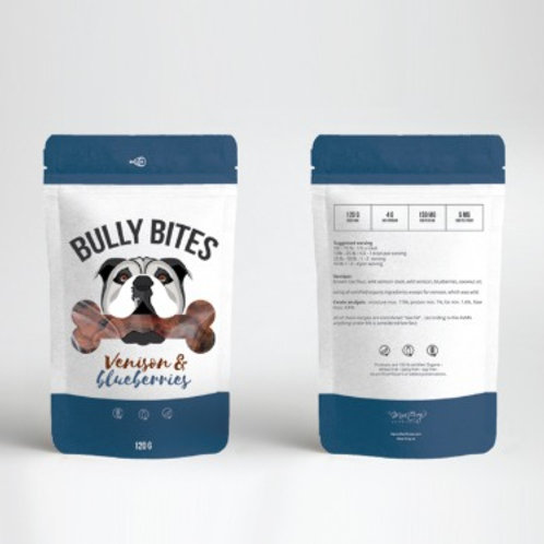 Miss Envy Bully Bites-Venison & Blueberry