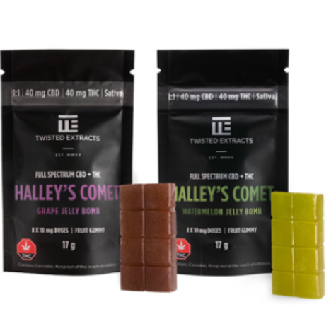 Twisted Extracts Halley's Comet 1:1 Jelly Bomb