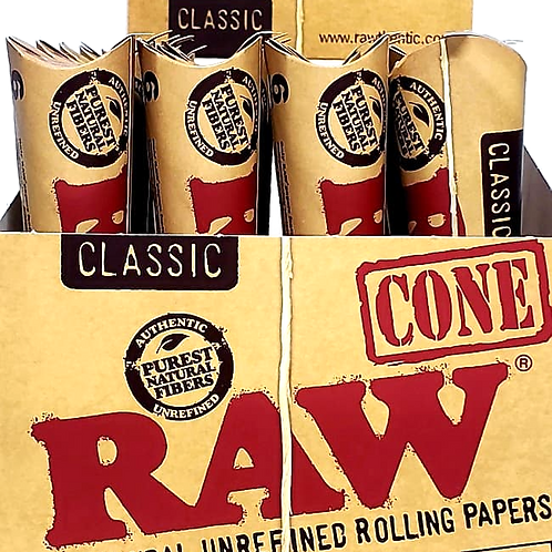 RAW CONE CLASSIC 1 1/4 SIZE 6 PACK