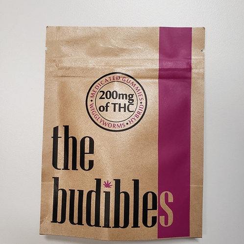 High Voltage 'Budibles' 200MG THC Wigglyworms