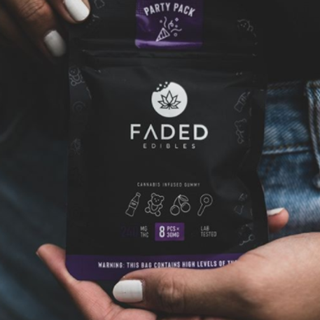 Faded Edibles 240mg Party Pack