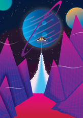Space Canyon