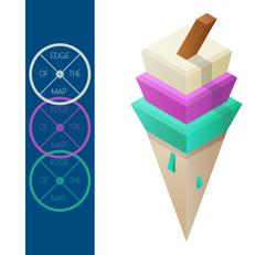 Polygon Ice Cream
