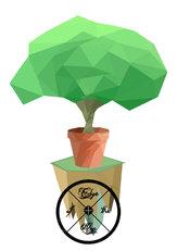 Polygon Bonsai Tree Island of Fun?