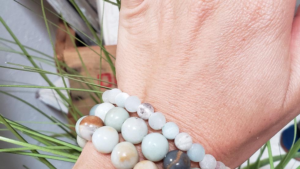 Amazonite Blessing Bracelet