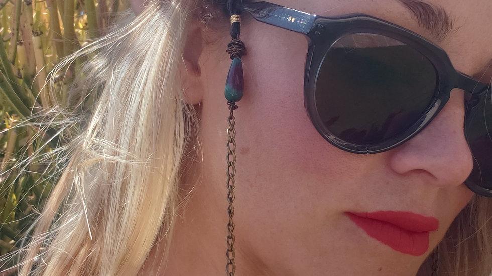 Ruby Rain Bronze Sunglass Eye Glass Chain