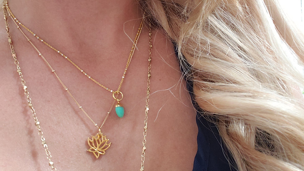 Lotus Flower Enlightenment Necklace