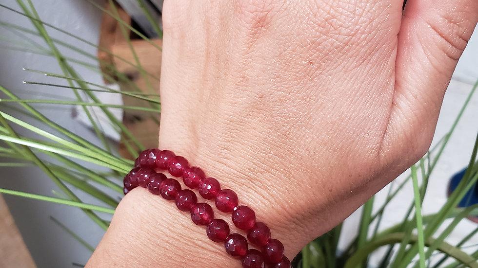 Ruby Blessing Bracelet