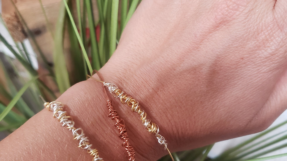 Handmade Wire Wrapped Bracelets