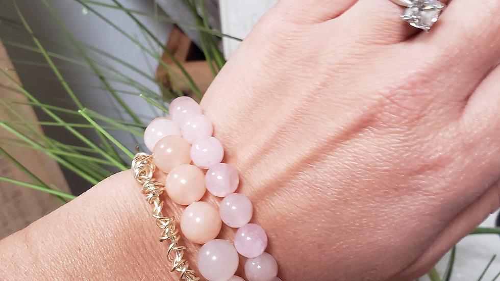 Rose Quartz Blessing Bracelet