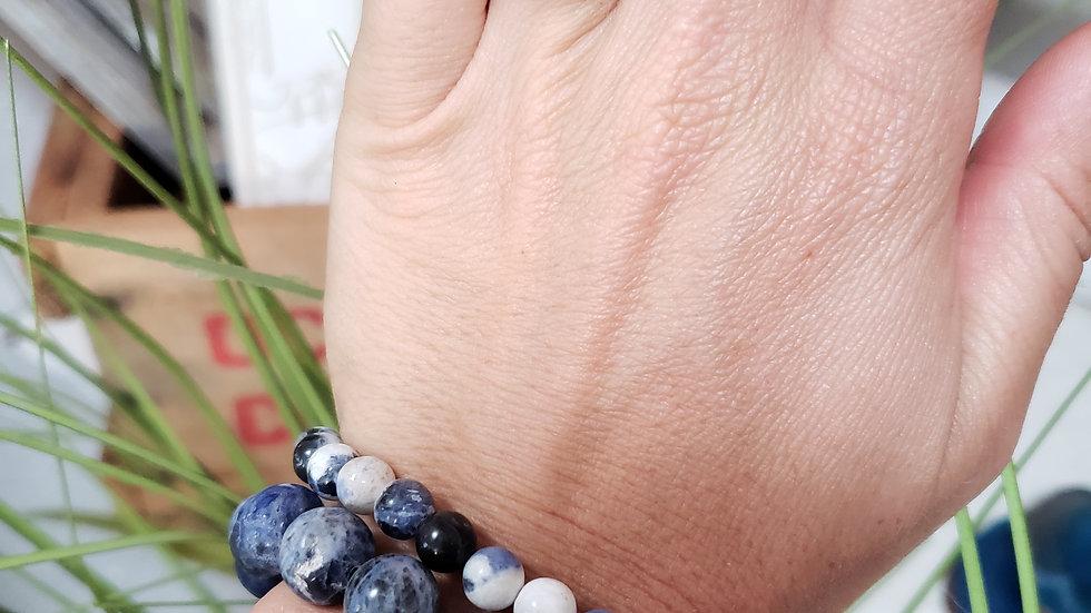 Lapis Blessing Bracelet