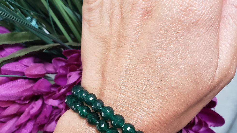 Green Agate Blessing Bracelet