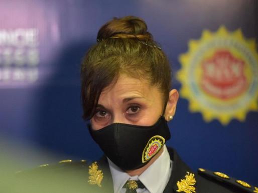 Removieron la cúpula policial provincial y asume por primera vez una mujer al mando