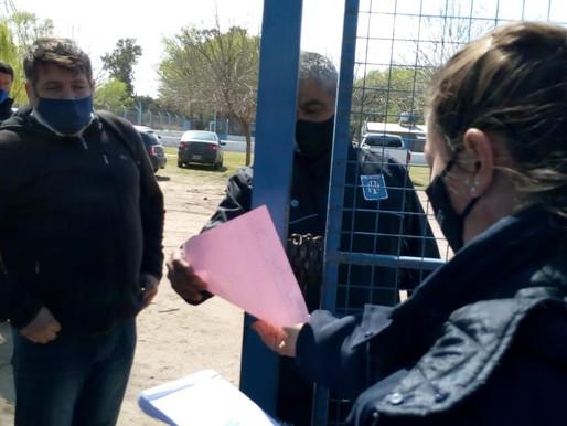 Polémica por el entrenamiento de Estudiantes en Las Higueras