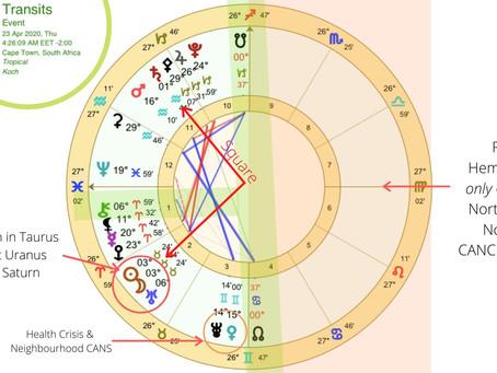 20200423 New Moon in Taurus conjunct Uranus