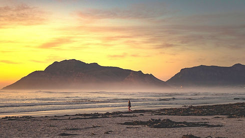 Yellow Sky Sunset Richelle on Noordhoek