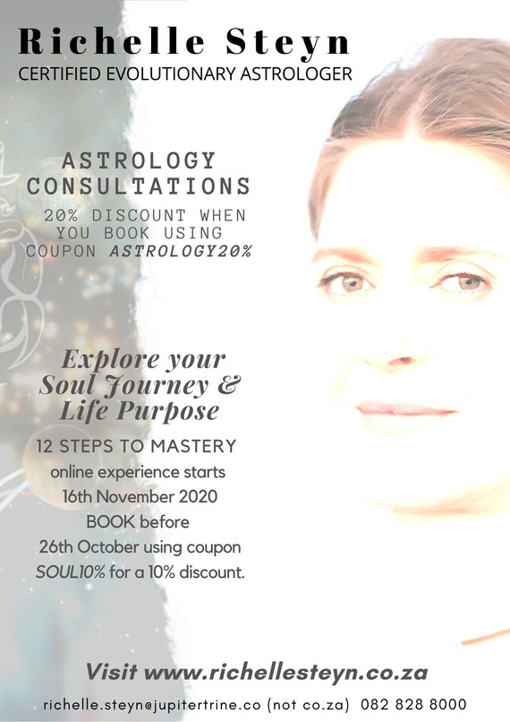 SEPTEMBER 2020 RICHELLE STEYN ASTROLOGY.