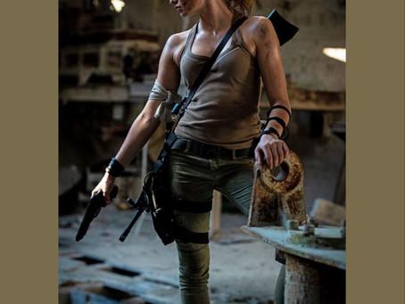 Cosplay: Luisa is Lara Croft in Edith Magazine