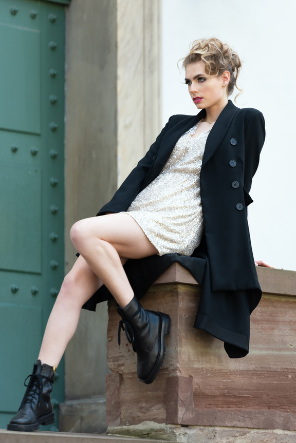 Fashion Shooting with Ines