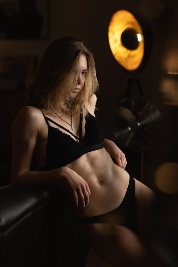 Sensual Portrait of Dana