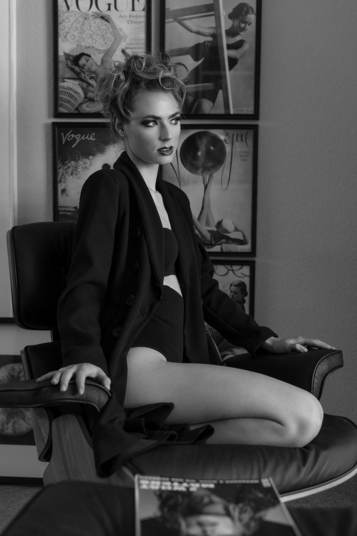 Portrait of Ines