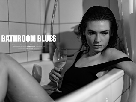 Editorial im ROIDX Magazine Paris: Bathroom Blues