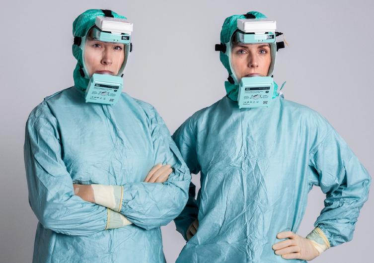 Nuevo Equipo de Protección Respiratoria Tiki Medical diseñado para Hospitales y Servicios de Urgencias. Ofrece Protección Respiratoria en la inhalación como en la exhalación.