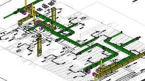 3D View of plans