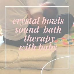 crystal bowlssound bath therapywith
